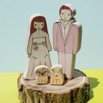 Custom Likeness Wedding Cake Toppers - $210