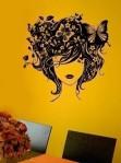 Butterfly Girl Wall Art Decals - $29.99
