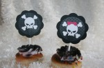 Perfectly Punk Cupcake Toppers - $12