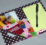 Cupcake Social Notepad Clutch - $14