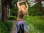 Circus Candy Wrap Skirt - $62