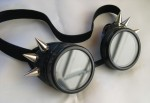 Black Basic Steampunk Goggles - $26.50