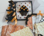 Fall Cupcake Scrapbook Kit - $23