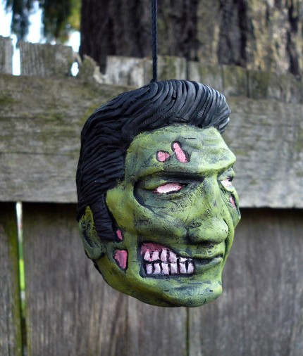 King of the Undead Christmas Ornament - $25
