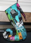 Jail House Rock Elvis Stocking - $45